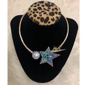 Betsey Johnson- Celestial Starlet Star Collar💫